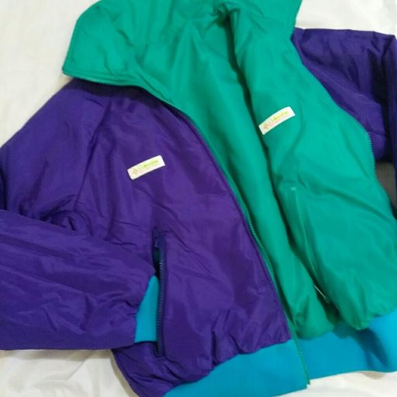 amp; 90s Jackets Columbia Coats Vintage Coat Colorful Reversible 56q6zv